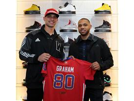 Eric Gordon and Jimmy Graham (1)