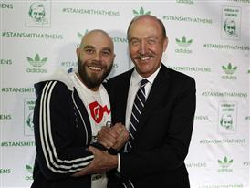 Stan Smith in Athens