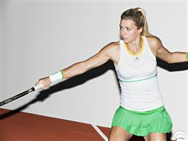 adidas by Stella McCartney Barricade SS14 French open Caroline Wozniacki 3