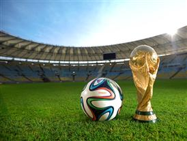 adidas brazuca and World Cup Trophy