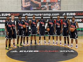 Team USA adidas eurocamp 2014