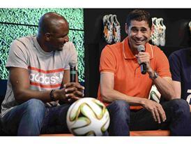 Patrick Vieira și Fernando Hierro fac pronosticurile pentru câștigătorii Cupei Mondiale 2014 din Brazilia