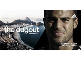 Rafinha to star in latest adidas show at the 2014 FIFA World Cup Brazil™