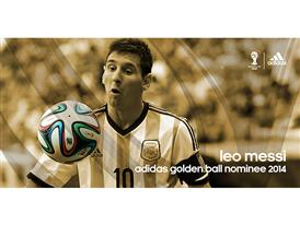 Brazuca Golden Awards Nominee Messi