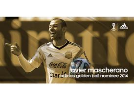Brazuca Golden Awards Nominee Macherano