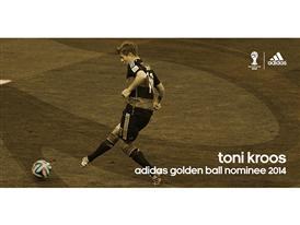 Brazuca Golden Awards Nominee Kroos