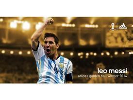 Messi adidas Golden Ball