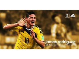James adidas Golden Boot