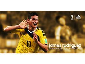 James adidas Golden Boot