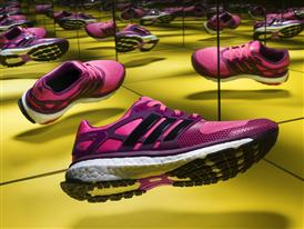 Vibrant style and unmatched energy return. Introducing the new adidas energy boost