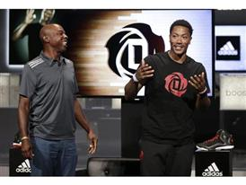 Derrick Rose & Greg Anthony (L), D Rose 5 Boost (2)