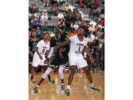 Thon Maker and Jaylen Brown - adidas Super 64 - Showcase Game - 2946