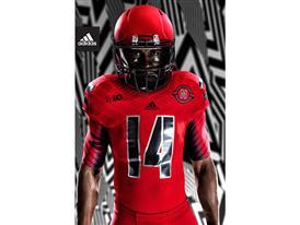 adidas NCAA Nebraska Jersey