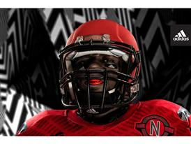adidas NCAA Nebraska Mouthguard