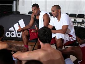 Kyle Lowry and Arron Afflalo Mentor Counselors
