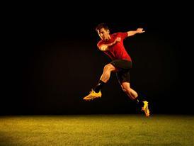Leo action shot