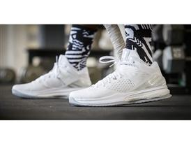adidas RG3 Trainer No Pressure No Diamonds White On Foot