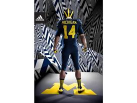adidas Michigan Go Blue Back