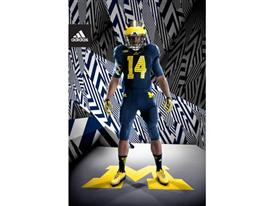 adidas Michigan Go Blue Front