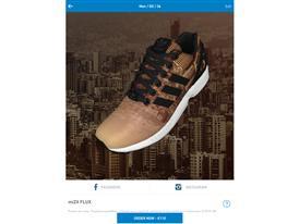 adidas Originals anunţă data lansării oficiale a aplicaţiei #miZXFLUX