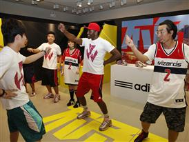adidas John Wall Take on Summer Tour in Qingdao, China, 5