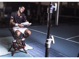 Novak se pregătește pentru #smashthesilence