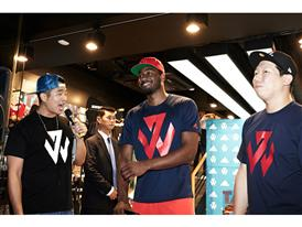 adidas John Wall Take on Summer Tour in Seoul, South Korea, 7