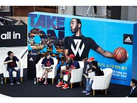 adidas John Wall Take on Summer Tour in Seoul, South Korea, 3