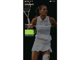 MiCoach Windows Phone 2