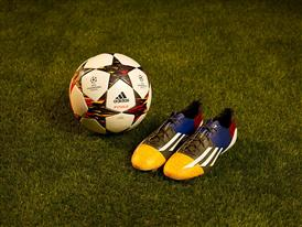 Leo Messi Boots & UCL Ball