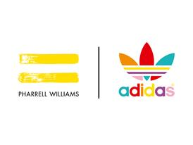 adidas Originals = PHARRELL WILLIAMS Logo WHT