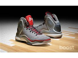 adidas D Rose 5 Boost Home Gray, G98703, 2, H