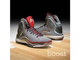 adidas D Rose 5 Boost Home Gray, G98703, 2, Sq