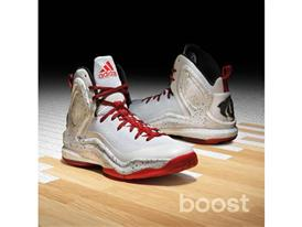 adidas D Rose 5 Boost Home, C76797, 2, Sq