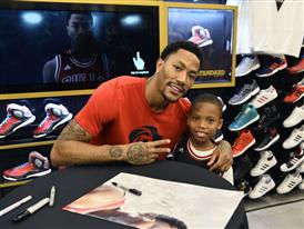 D Rose and adidas Launch D Rose 5 Boost in Chicago 8