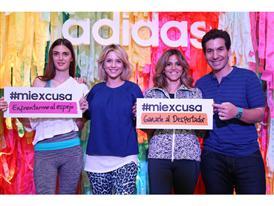 adidas presentó su nueva campaña #miexcusa