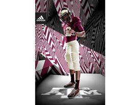 adidas Texas A&M 1939 Throwback 3 Stripe