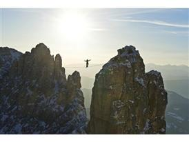 Highlining in the Dolomites 14