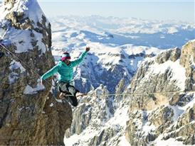 Highlining in the Dolomites 15