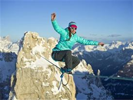 Highlining in the Dolomites 16