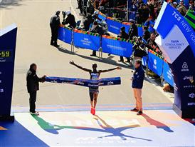 Kipsang Finish Line