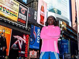 Keitany Times Square waist high