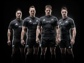 adidas 2015 All Blacks Jersey Group Shot