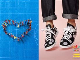 adidas lansează ultima serie de imagini din campania 2014 și modelele Polka Dot