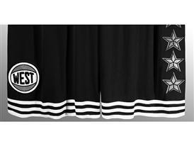 adidas NBA All-Star West Short, H