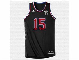 adidas NBA All-Star West Jersey, Sq