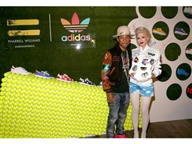 Pharrell Williams und adidas feiern ihre Kollaboration in LA 17