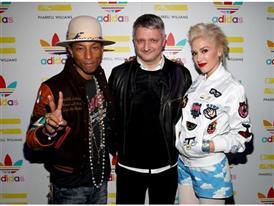 Pharrell Williams und adidas feiern ihre Kollaboration in LA 28