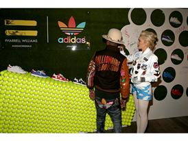 Pharrell Williams And Adidas Celebrate Collaboration 23