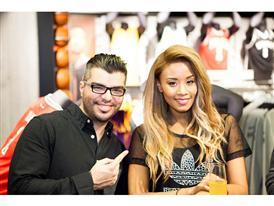 Η Shaya με τον Mark Angelo